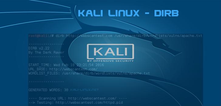 kali-linux.net/dirb