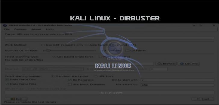 kali-linux.net/dirbuster
